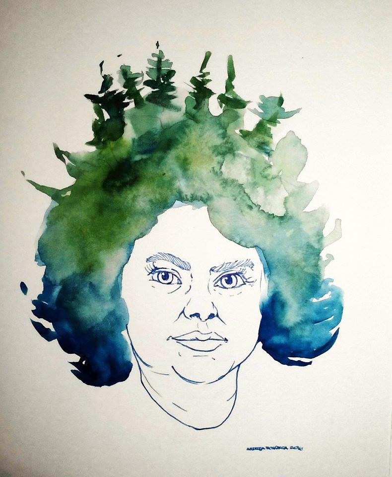 by Honduran artist/activist Andrea Fonseca
