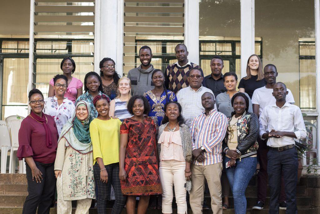 Ceylan Tokgoz at the 2020 YPIT training in Nairobi, Kenya
