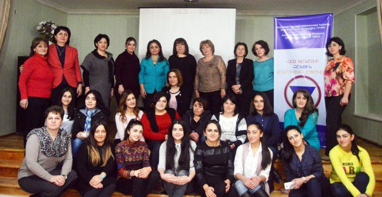 YWCA of Armenia women and young women