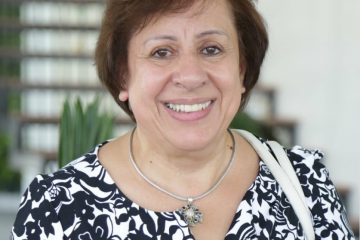 Mira Rizeq from Palestine, World YWCA President